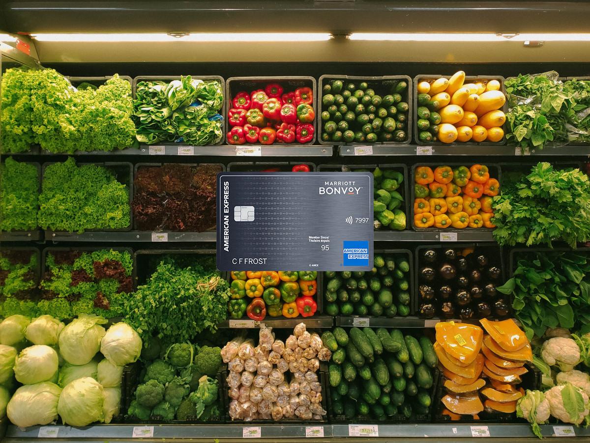 La carte Marriott donne maintenant 5 points par dollar sur la nourriture (épicerie et restaurants)