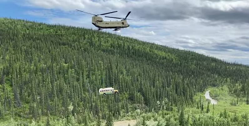 "Alaska's Famous Bus From ""Into The Wild"" Has Been Removed After Causing Too Many Deaths"