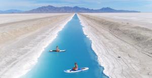 Le beau canal bleu en Utah qui est en train d'être viral pourrait en fait être «dangereux»