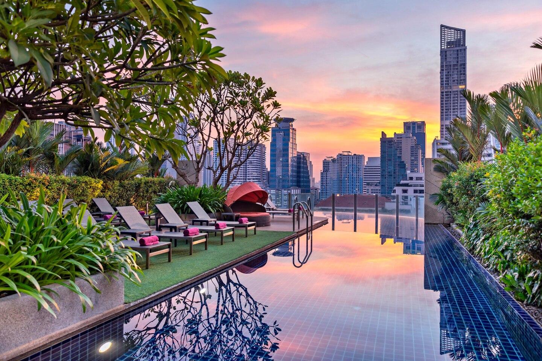 2 magnifiques hôtels en Thaïlande où tu peux facilement passer 10 nuits gratuites