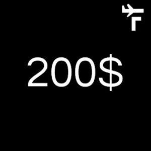 Contribution 200$