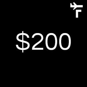 $200 contribution