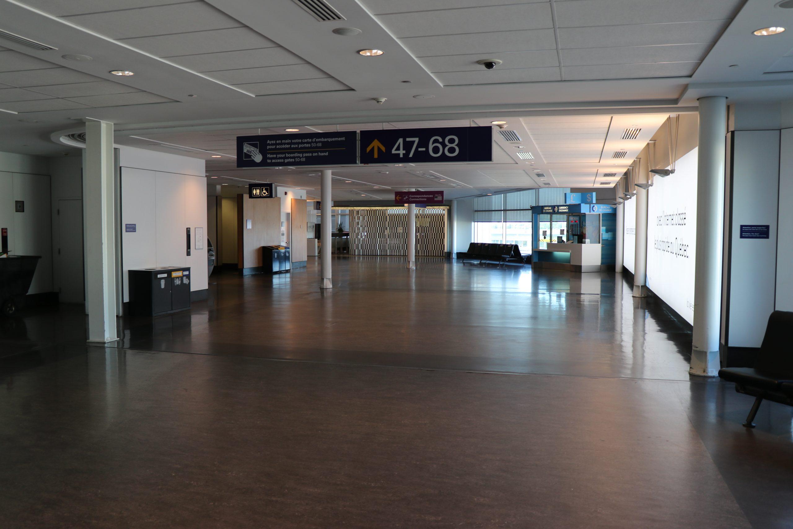 Oui, il y aura des tests à l'aéroport de Montréal… mais non, ce n'est pas encourageant