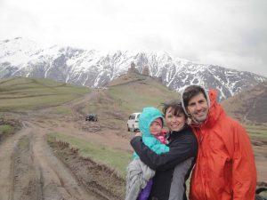 5 arrêts lors de notre aventure en sac à dos avec bébé en Géorgie (ex-URSS)