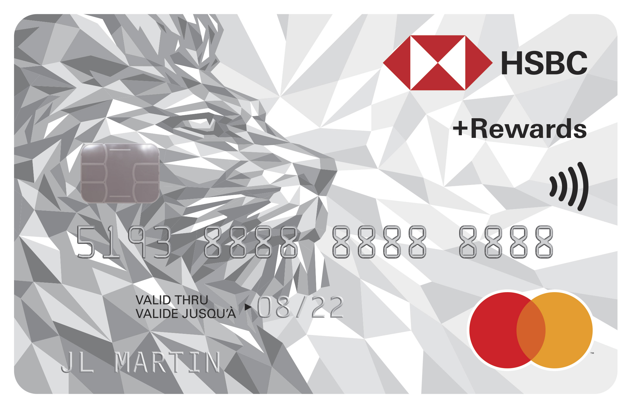 HSBC +Rewards Mastercard (excl. QC)