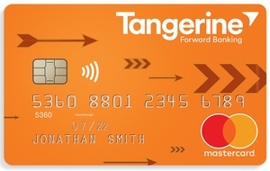 Tangerine Money-Back Card