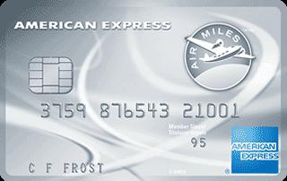 Carte de Platine AIR MILES American Express
