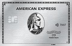 Carte de Platine d'American Express