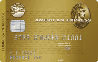 Carte pour entreprise AIR MILES American Express