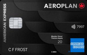 Carte Prestige Aéroplan American Express