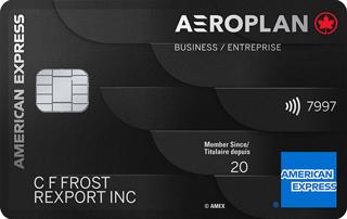 Carte Prestige Aéroplan entreprise American Express