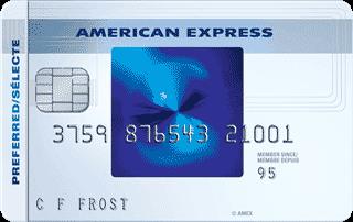 Carte sélecte RemiseSimple American Express