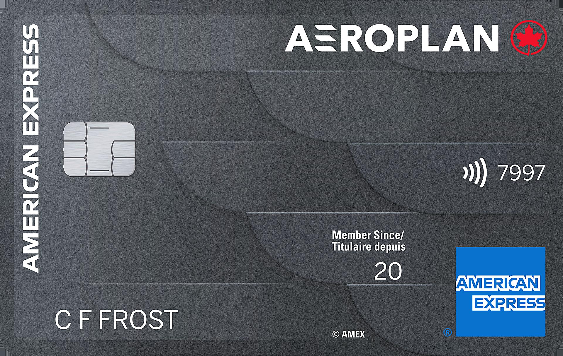 Carte Aéroplan American Express