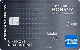 Carte Marriott Bonvoy entreprise American Express