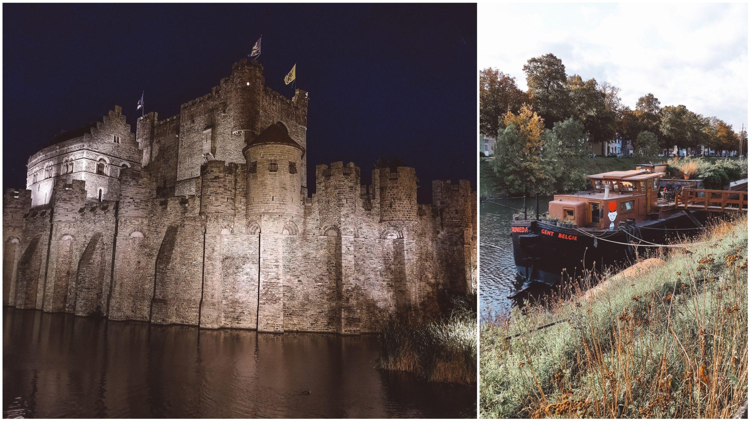 Château des Comptes de Flandre et l'Écohostel Andromeda