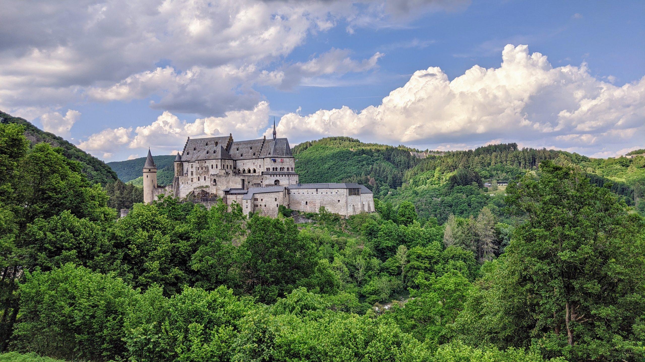 vue du luxembourg, un des pays du benelux