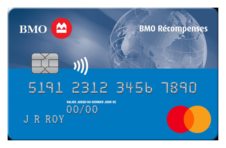 Carte MasterCard BMO Récompenses