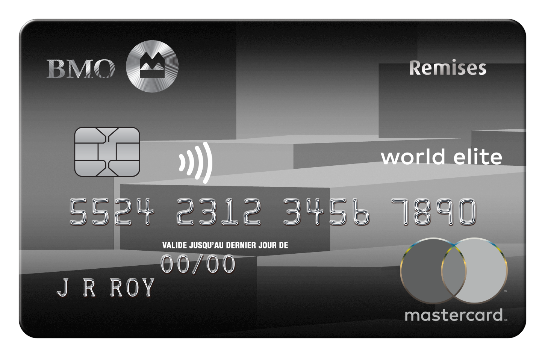 Carte MasterCard BMO Remises World Elite