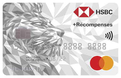 Carte Mastercard HSBC +Récompenses (QC)