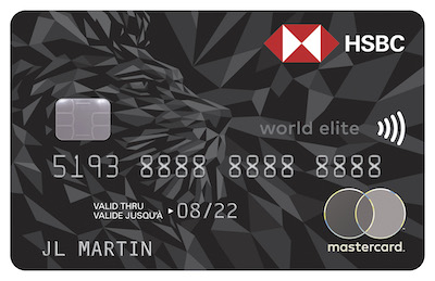 Carte Mastercard HSBC World Elite (hors-QC)