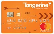 Carte Tangerine avec remises