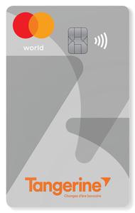 Carte World Mastercard Tangerine