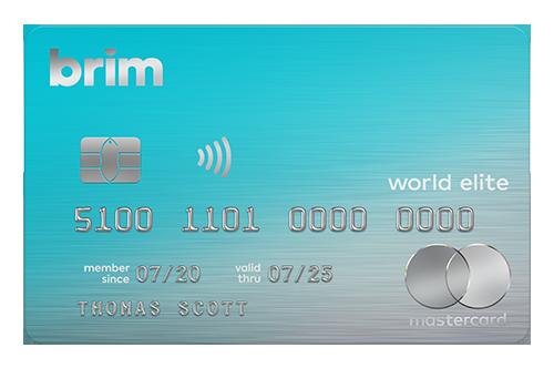 Carte Brim World Elite Mastercard