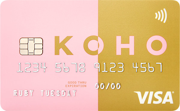 Carte KOHO Visa prépayée