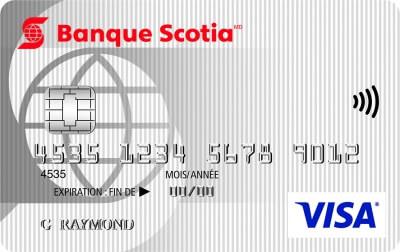 Carte Visa minima Scotia