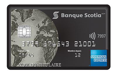 Carte Platine Scotia American Express
