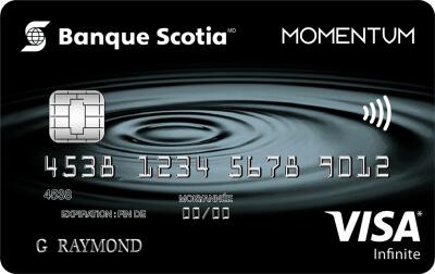 Carte Visa Infinite Momentum Scotia