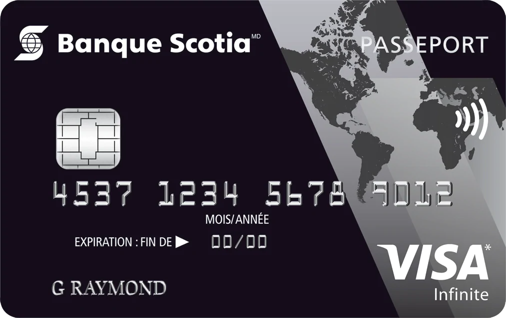 Carte Visa Infinite Passeport Scotia