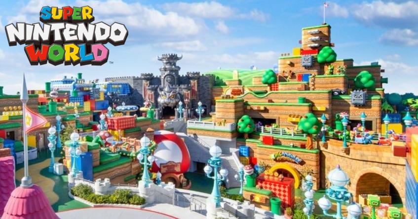 Super Nintendo World Theme Park Opening Next Week (Video & Photos)
