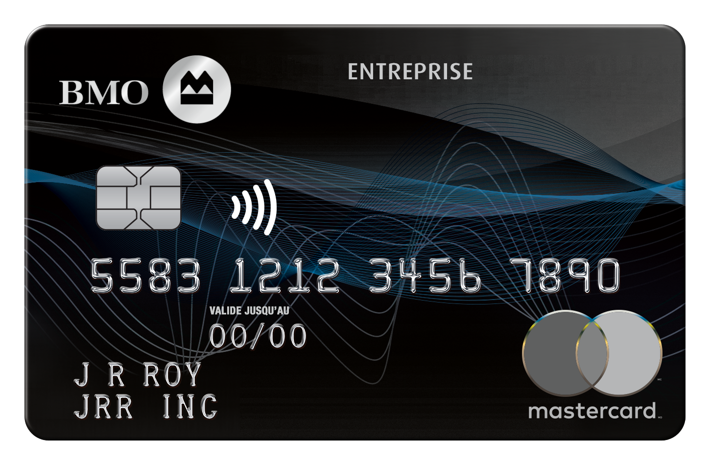 Carte Mastercard BMO Récompenses pour entreprise