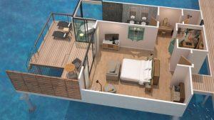 Maldives: 5 nuits dans une villa sur pilotis pour 120 000 points Marriott total (ou 240$ pour un couple)