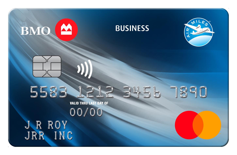 BMO AIR MILES No-Fee Business Mastercard