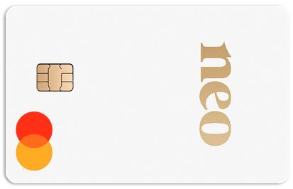 Carte Neo Mastercard