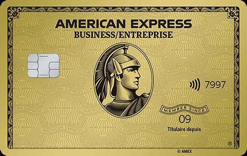 Carte Or pour PME avec primes American Express
